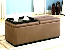 soft ottoman coffee table table marvelous soft coffee table ottoman footstool storage cream leather with and