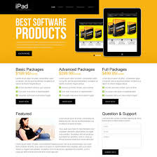 web template design software. best software products attractive and appealing software product