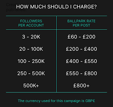 How Much Should I Get Paid For Bloggers A Quick Guide To Get Paid For Your Instagram Posts