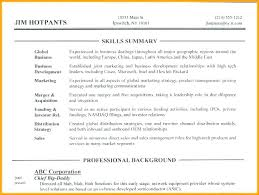 resume example for skills section skills section resume examples customer service skills section a