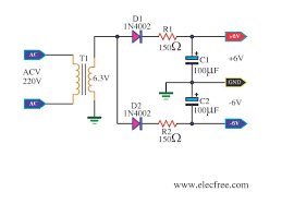 circuit diagram 15v dc power supply the wiring diagram dc dual power supply circuit diagram nodasystech wiring diagram