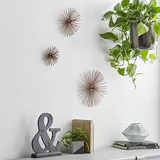 Check out our jewel wall decor selection for the very best in unique or custom, handmade pieces from our shops. Other Home Decor Home Garden 3 Modern Metal Jeweled Starburst Wall Abstract Sculpture Home Decor Art Set New Topografiapv Cl