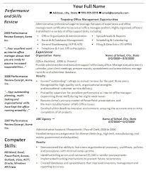 Resume Format Microsoft Office Word 2007 Cover Letter Templates