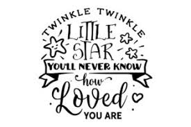 Trace the png or jpeg if you have the basic (free) edition of silhouette. Twinkle Twinkle Little Star You Ll Never Svg Cut Files All Free Svg Designs Svg Files