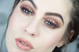 eye makeup for light brown skin bronzed eye lip makeup tutorial fair skin you
