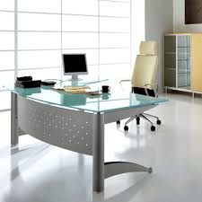 contemporary glass office. Marvelous Modern Glass Office Desk Home Desks Safarihomedecor Contemporary