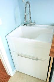 garage sink laundry room cabinet basement freestanding utility large stainless deep sinkextra single canada