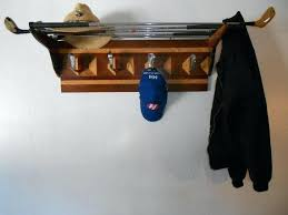Golf Coat Rack Golf Club Coat Rack Diy Items Similar To Golf Club Coat Rack With 40