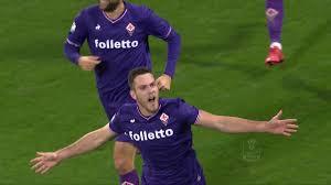 Il gol di Veretout - Fiorentina - Sampdoria 3 - 2 - TIM CUP 2017/18 -  YouTube