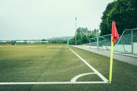 green grass soccer field. Minimalist Photo Of Soccer Field Green Grass