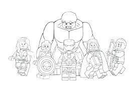 Free Avengers Coloring Pages Avengers Coloring Pages Free Free
