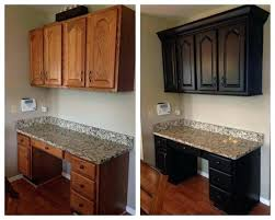dark stained kitchen cabinets. How To Stain Cabinets Gel Kitchen Before And After White Staining Dark Brown Paint . Stained