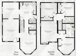 Marvelous 4 Bedroom 3 Bath And Inspirational 2 Story House Plans New Home