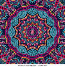 Bohemian Patterns New Tribal Art Bohemia Seamless Pattern Ethnic Stock Vector Royalty