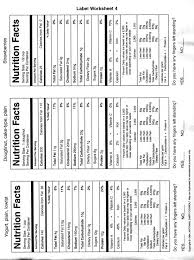 label worksheet 4 jpg consumerism food labeling