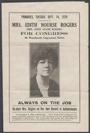 「Edith Nourse Rogers of Massachusetts,」の画像検索結果