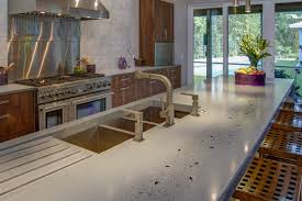 jake brady owner designer of jake brady concrete by design jakebradyconcrete com created this stunning concrete countertop for a kitchen