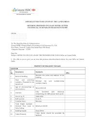 Rental Letter Template Rental Offer Letter Templates At Allbusinesstemplates Com