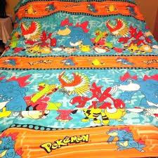 fascinating queen bedding comforter set twin orange sheets pokemon comfo