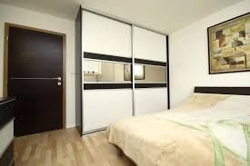 28 ikea pax white sliding door wardrobe white and black glass with centre mirror chic white