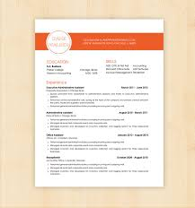 Gallery Of Basic Resume Template 51 Free Samples Examples Format