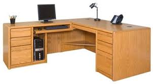 Image Workstation Contemporary Veneer Shape Office Desk Workstation Left Hand The Office Leader The Office Leader Contemporary Veneer Shape Office Desk