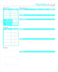 Easy Monthly Budget Template Easy Family Budget Template Basic Excel Simple Personal Easy