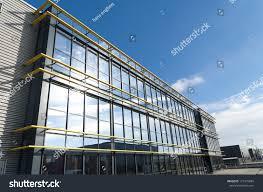 modern office building. Glass Exterior Of A Modern Office Building N