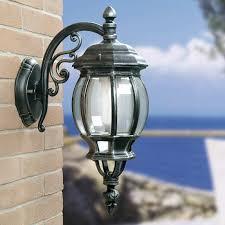 Lanterna Da Parete : Athena lanterna lampada grande da esterno quadra illuminazione