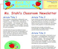Classroom Newspaper Template Best Photos Of Online School Newspapers Templates Newspaper