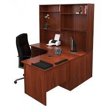 office corner workstation. origo corner workstation office desk with hutch dark cherry 1500mm i