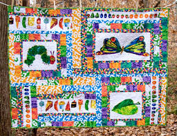 The Very Hungry Caterpillar Quilt #4,528,103 | & I have two more quilts to post later tonight. Yippee! Adamdwight.com