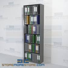 Office shelving unit Retractable Open Office Shelving Racks Storing Binders Files 30 Storemorestore Open Office Shelving Racks Storing Binders Files 30