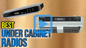 Kitchen Stereo Under Cabinet Top 6 Under Cabinet Radios Of 2016 Video Review