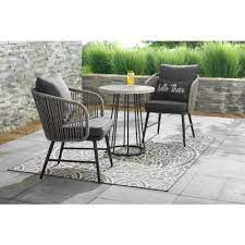 small patio furniture outdoors