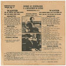 Criminal Wanted Poster Mesmerizing Bonnie And Clyde Wanted Poster Outlaws Criminals Etsy