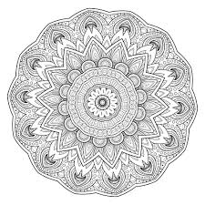 mandala coloring pages expert level 5 free printable coloring pages mandala templates to print