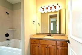 above mirror lighting. Various Above Mirror Bathroom Lights Wall Inspirational Design Lighting Over Vanity Gorgeous