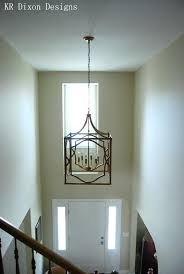 chandelier size for two story foyer what size lighting for a two story foyer light fixtures