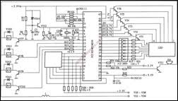 free electronic circuits & 8085 projects blog archive pc style Oven Control Schematic pc style barbecue type microwave circuit with computer control panel oven control circuit