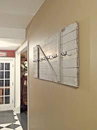 Door Coat Rack Absolutely love this idea DIY turn a barn door into a coat rack 21