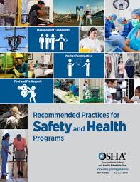 recommendations for safety and health programs cover