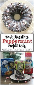 dark chocolate peppermint bundt cake recipe chocolate bundt cake coffee creamer and creamy white