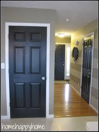 interior design new painted black interior doors decor color ideas excellent at design tips new