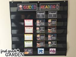 First Grade Garden Daily Schedule Guided Reading What Is