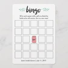 Wedding Bingo Words 10 Funny Bridal Shower Bingos Kittybabylove Com