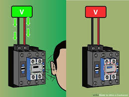 how to wire a contactor 8 steps (with pictures) wikihow Wiring Diagram Of Magnetic Contactor image titled wire a contactor step 7 circuit diagram of magnetic contactor