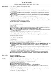 Java Spring Resume Samples Velvet Jobs