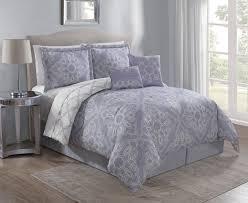 inspiring ideas lavender comforter sets 6 piece raquel set com