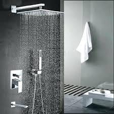 wall mounted rainfall shower heads malachite wall mount inch rainfall shower head with hand held shower wall mounted rainfall shower